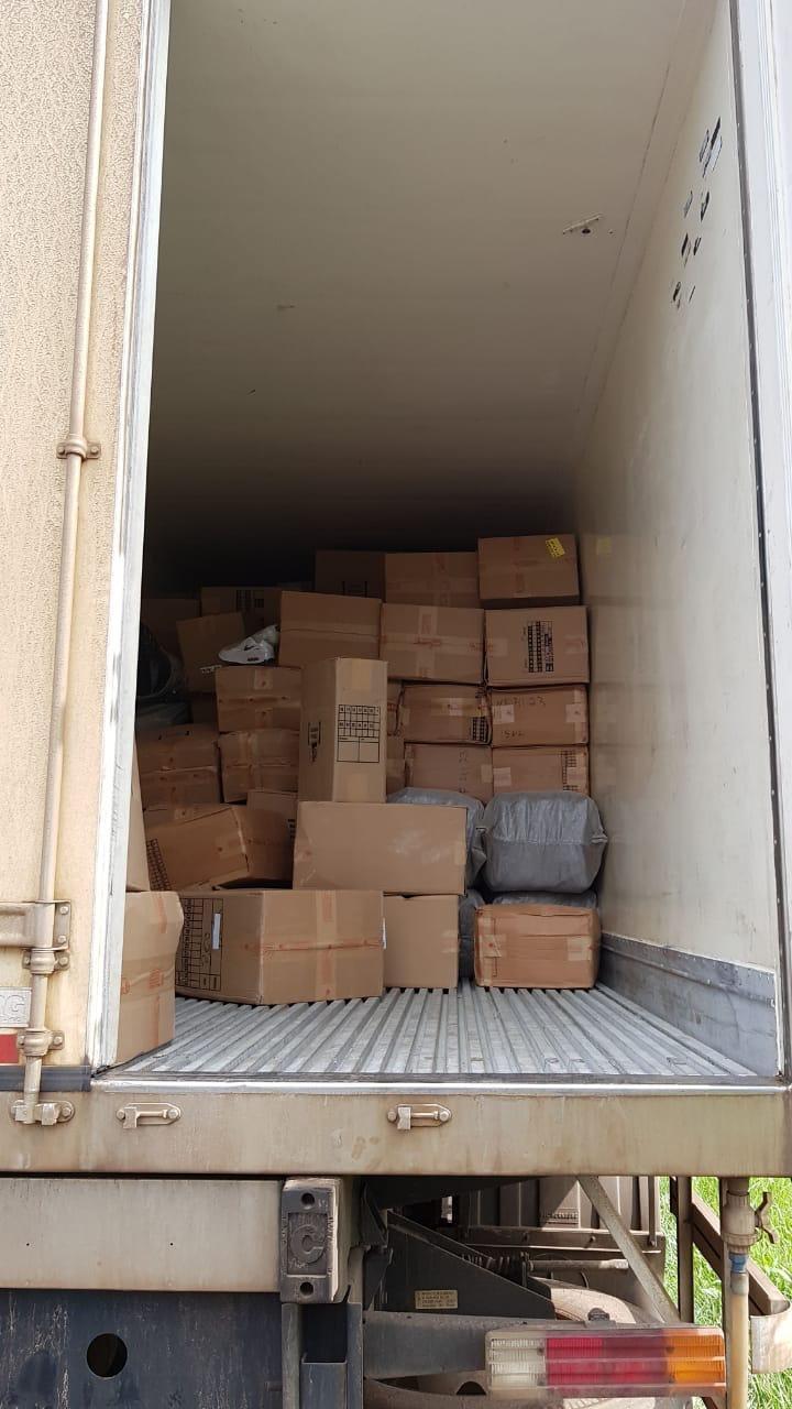 d510727d6 ... produtos (crime contra a propriedade imaterial), tanto o veículo como a  carga e o motorista foram encaminhados à Receita Federal em Foz do  Iguaçu/PR.