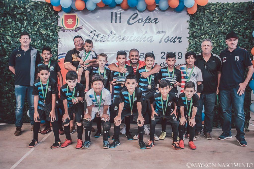 Santa Terezinha de Itaipu é campeã em dose dupla na Copa Italianinha - O Paraná