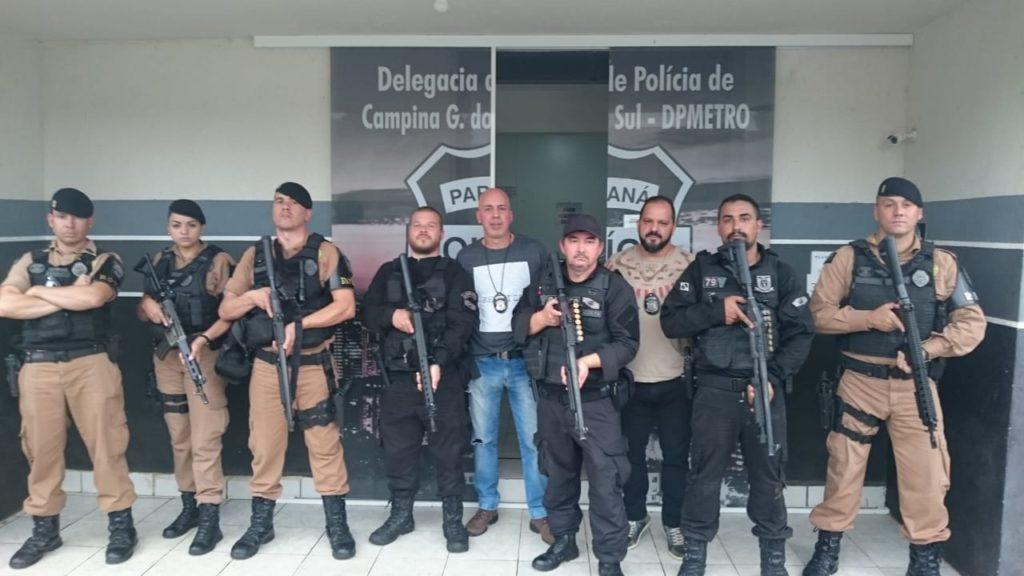 Policiais frustram fuga da cadeia de Campina Grande do Sul - O Paraná