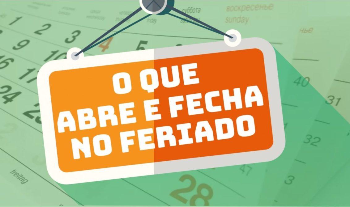Veja o que abre e o que fecha neste feriado de Nossa Senhora Aparecida – O  Paraná
