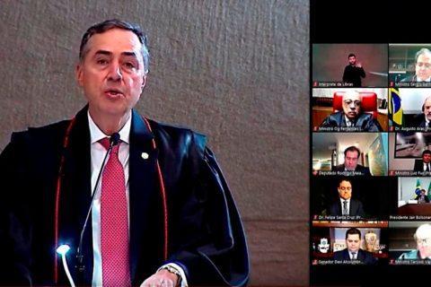 Reprodução videoconferência