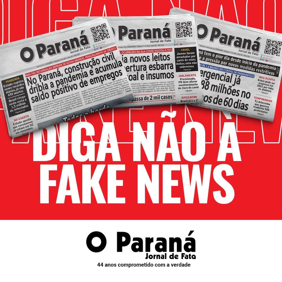Campanha Hoje News e O Paraná